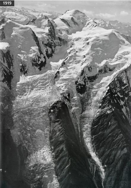 Glacier des Bossons 1919