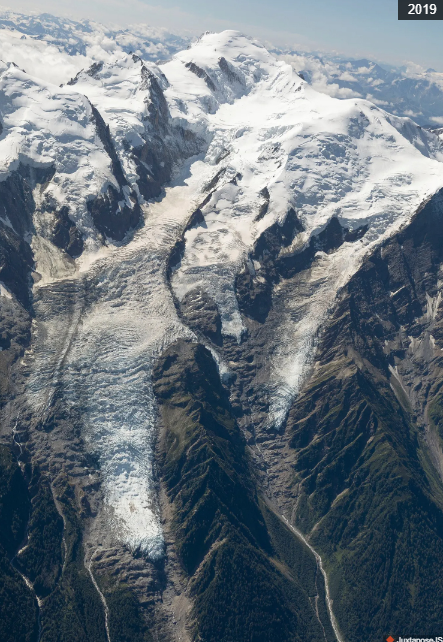 Glacier des Bossons 2019