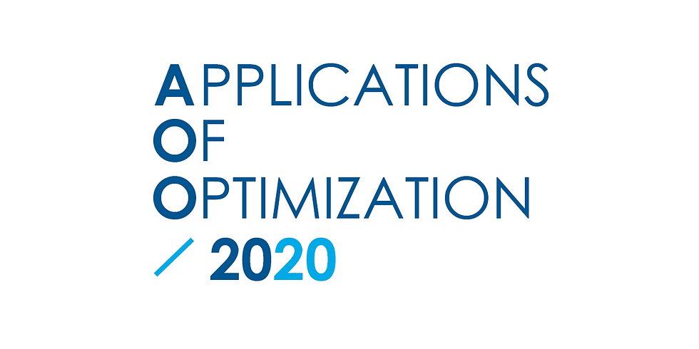 Applications of Optimization 2020 (AOO 2020)