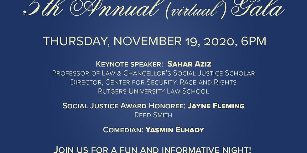 NJMLA's Fifth Annual (Virtual) Gala
