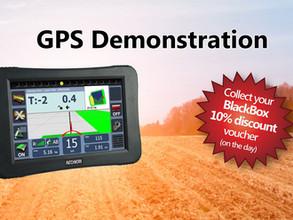 GPS Demonstration 19th April - Last reminder !!
