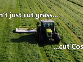 Don't just cut grass, cut Costs
