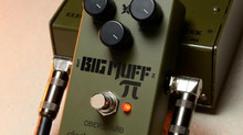 Green Russian Big Muff Reissue, Cock Fight Plus, y Hot Wax, las novedades de Electro-Harmonix
