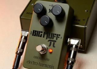 Green Russian Big Muff Reissue, Cock Fight Plus, y Hot Wax, las novedades de Electro-Harmonix