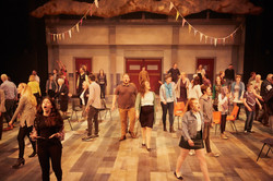 The whole Company of Songs from the Seve