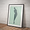 Thumbnail: Stand | Abstract Female Nude Wall Print | Figures Range | A3 or A4 from £13.50