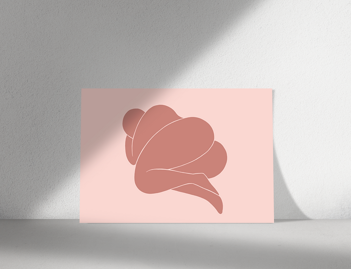 Rest | Abstract Figure Wall Print | Figures Range | A3 or A4 from £13.50
