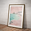 Thumbnail: Coast Print   Great Escapes Range   Wall Art   A3 or A4 from £13.50