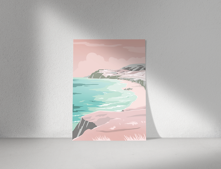 Coast Print   Great Escapes Range   Wall Art   A3 or A4 from £13.50