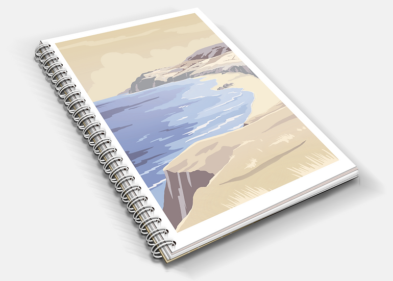 Coast   A5 Notebook   Plain or Lined