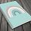Thumbnail: Calm Rainbow   A5 Notebook   Plain or Lined