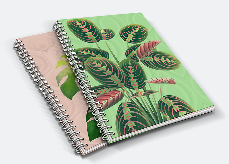 House Plant A5 Notebook Duo