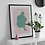 Thumbnail: Protect   Abstract Figure Wall Print   Figures Range   A3 or A4 from £13.50