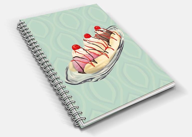 Banana Split A5 Notebook
