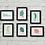 Thumbnail: A6 Mini Prints | Abstract Figures | Postcards | Set of 6 Mini Prints