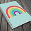 Thumbnail: Bright Rainbow   A5 Notebook   Plain or Lined