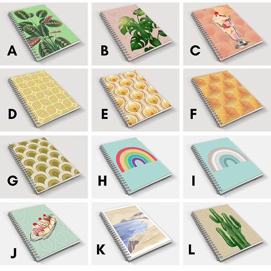 A5 Notebook Duo | Choose Your Designs