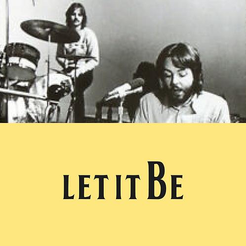 Let It Be Drum/Percussion Transcription