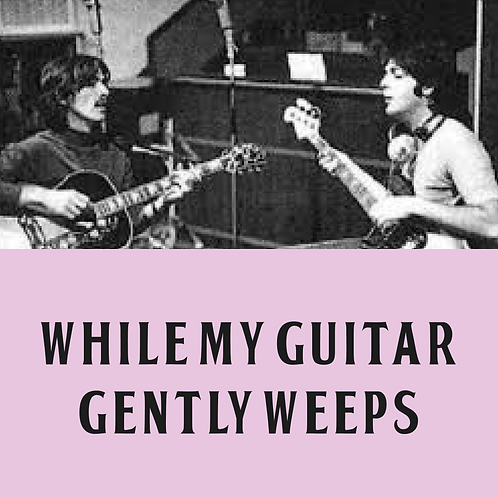 While My Guitar Gently Weeps Drum/Percussion Transcription