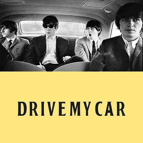 Drive My Car Drums/Percussion Transcription