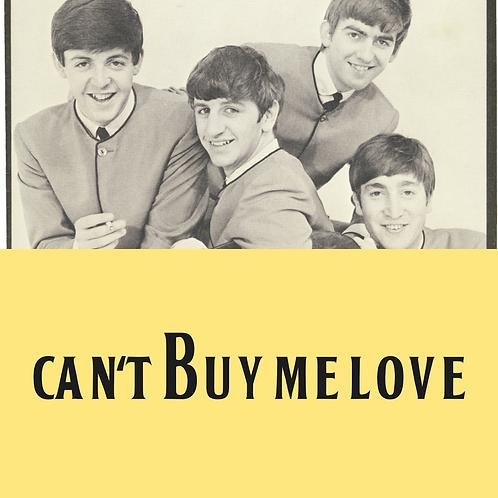 Can't Buy Me Love Drum Transcription