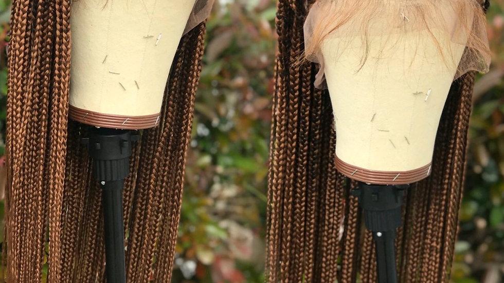 Full lace knotless braids Waistlength/buttlength