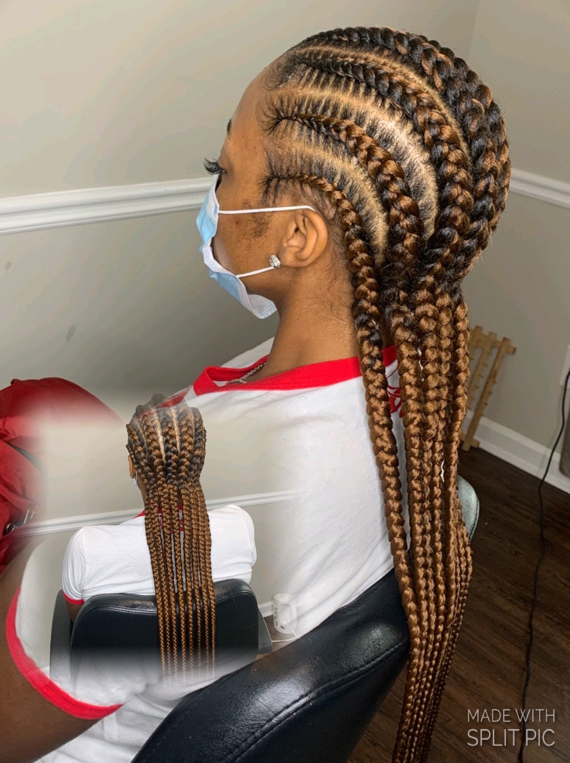 4 to 6 Regular Size Feed -In Braid