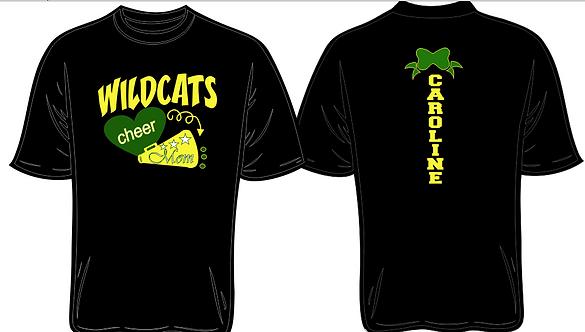 WildCats Cheer Mom T-Shirt
