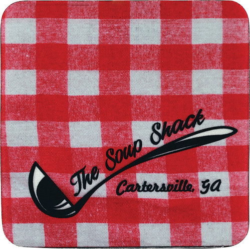 1-Sided Square Neoprene Coaster