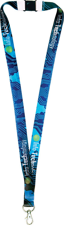 2-Sided Lanyard with Clip