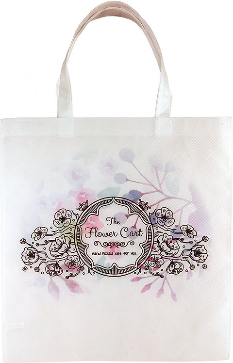Economy Tote Poly Canvasa Bag
