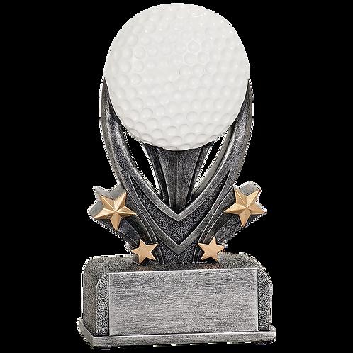 Golf Varsity Sport Resin Award