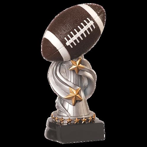 Encore Football Resin Award