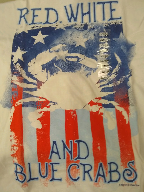 Red, White & Blue Crabs T-Shirt