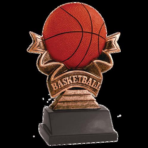 Basketball Ribbon Award