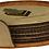 Thumbnail: Light Brown Leatherette Round 6-Coaster Set