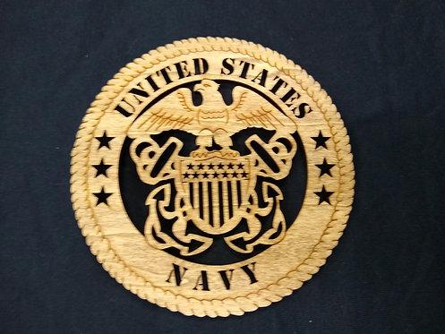 Military Emblem Plaque