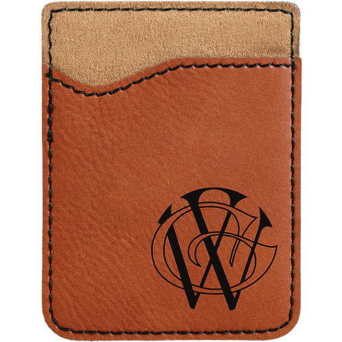 Rawhide Leatherette Cell Phone Wallet