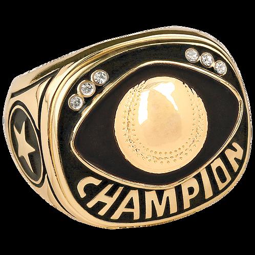 Gold Baseball/Softball Champion Ring