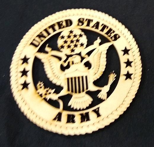 Military Emblem Ornament