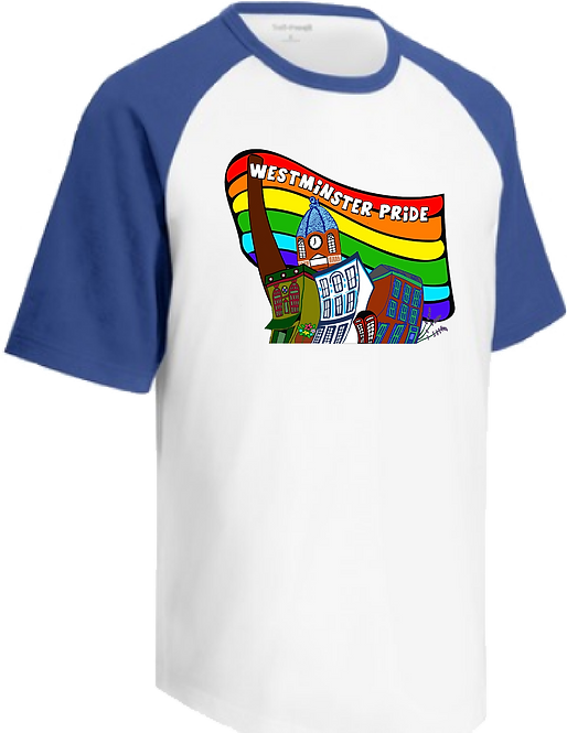 Be part of the Westminster Pride Team in an Authentic Pride Shirt.