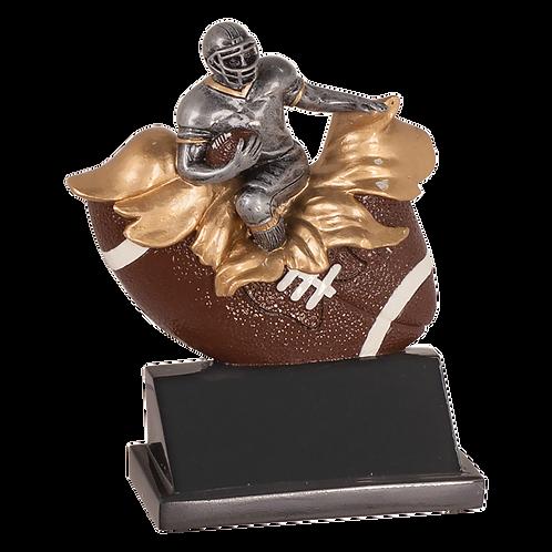 Exploding Football Resin  Award