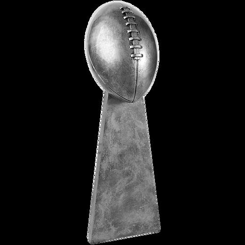 Antique Silver Football Award