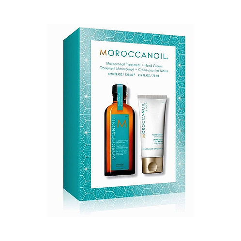 Moroccanoil | DUO Set | Arganöl Treatment BIG SIZE 125ml + Handcreme 75ml GRATIS