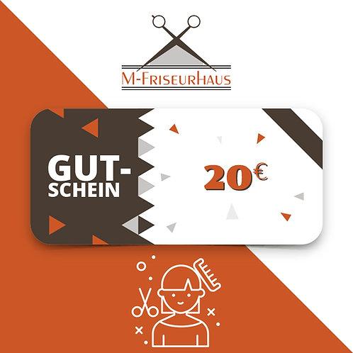 M-Friseurhaus | Friseurgutschein I 20 EURO