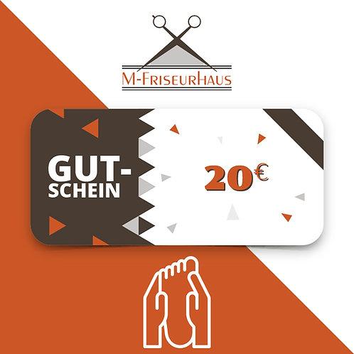 M-Friseurhaus | Fusspflegegutschein I 20 EURO