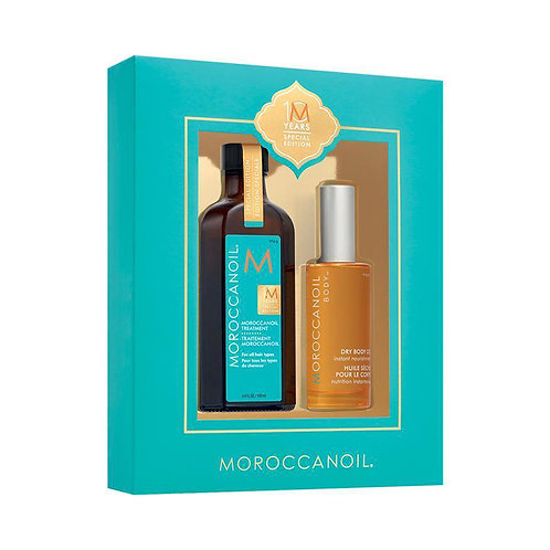 Moroccanoil Spez. Ed. Set: | Arganöl Treatment 125ml + Dry Body Oil 50ml