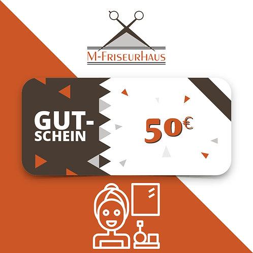 M-Friseurhaus   Kosmetikgutschein I 50 EURO