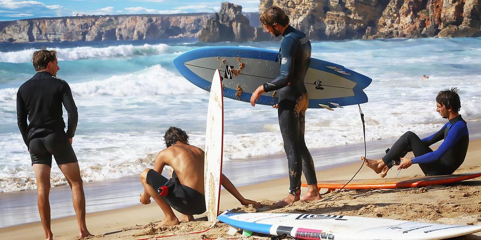 NASU Surfing Lesson