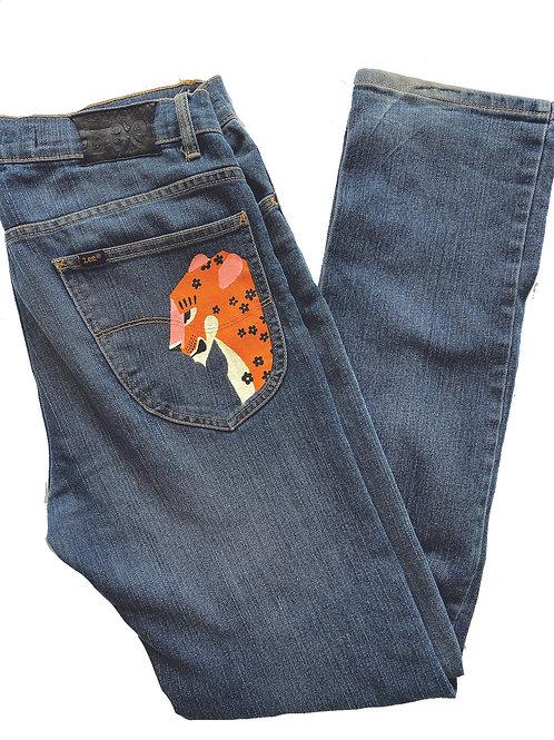 wildflowers jeans